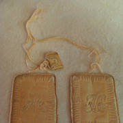 Antique: Satin & Silk Embroidery Scapular