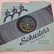 RCA Victor 78 rpm Vinyl (1944),  Tommy Dorsey's OPUS No. 1 (a-side)  and ...