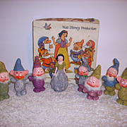 Snow White & 7 Dwarfs 1938 German Candy Containers in Box