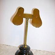 Early 1900's Rare Childs Shoe Display Stand Harris & Sheldon England