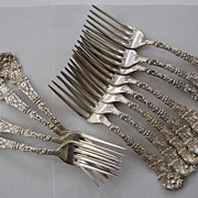 VERSAILLES - Gorham, Sterling Luncheon Forks (set of 12)