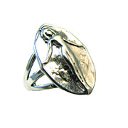 Venus Erycina Erotic Love Ring - Artifact Collection - Sterling SIlver