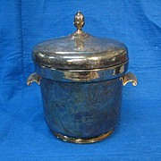 SALE Rogers Silverplate Ice bucket - Vintage