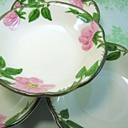 SALE 4 Franciscan Desert Rose Fruit Bowls Made in USA