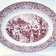 Homer Laughlin Bountiful Harvest 22.5 in Oval Platter