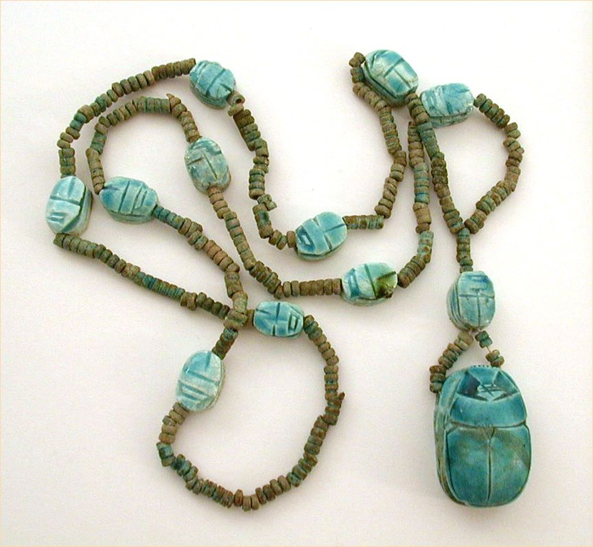 egyptian scarab necklace - photo #36