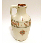 Arts & Crafts Dutch Distillery Wynand Fockink Pottery Jug Pitcher