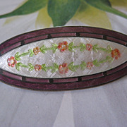 Watson Co. Enameled Pin    Sterling