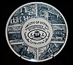 Bicentennial Plate City Of Rye NY  Kettlesprings Kilns