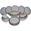 Beautiful 14 Piece Set of Porcelain by Edelstein Bavaria