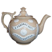 Measham Bargeware Rare Beige Color Teapot