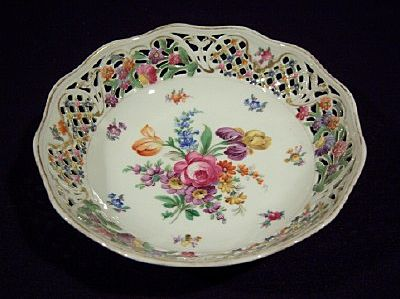 Schumann Dresden Reticulated Serving Bowl