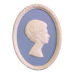 Wedgwood Jasperware Portrait Medallion The Princess Margaret Limited Edition No. 14 of 1000