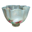 Opalescent Signed Handkerchief Vase