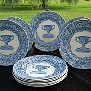 SALE Antique Copeland & Garrett Late Spode Plates