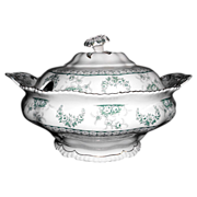 SALE John Maddock & Sons Tureen 'Warwick' Royal Vitreous
