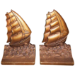 Bradley & Hubbard B&H Cast Iron Ship Bookends