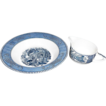 Currier & Ives Vegetable Bowl and Bonus Creamer