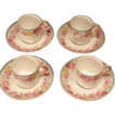 D&C France Limoges For Higgins and Seiter NY Demitasse Set