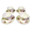 Coalport Bone China  'Caughley Sprays' Demitasse set