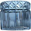Set of 4 Cut Crystal Oval Holders