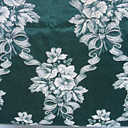 SALE Regency Motif Damask Jacquard upholstery fabric 6+ Yards