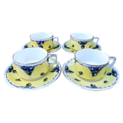 SALE Dresden Porcelain Demitasse Set