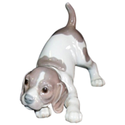 SALE Lladro Beagle Puppy #1070  Retired