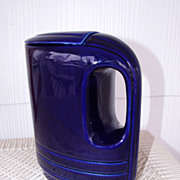 SALE 1930's-40's Art Deco Hall for Westinghouse Cobalt Refrigerator Pitcher