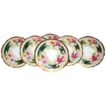 Wonderful Antique Limoges Porcelain Cabinet Plates ROSES