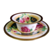 Antique Coronet Limoges Ramekin with Saucer