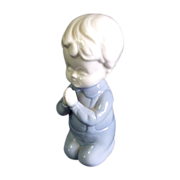 SALE Sweet Little Porcelain Praying Child by Brinn's