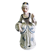SALE KPM Porcelain Figurine Colonial Woman