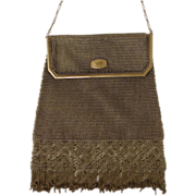 SALE Whiting & Davis Princess Mary Metal Mesh Purse