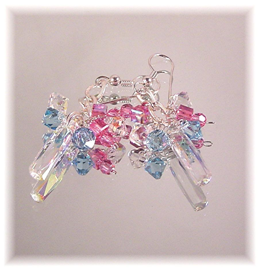 Dazzle Them Swarovski Crystal Earrings