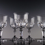 Chaumont Water/Large Wine Goblets  by Cris D'Arques