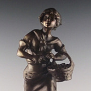 Ernest Roncoulet French Bronze Sculpture ca 1890-1915