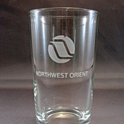 SALE Northwest Orient Airline Tumbler