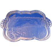 SALE Niagara Falls Souvenir Glass Tray