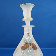 SALE Victorian Clambroth Glass Perfume