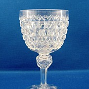 SALE American Brilliant Cut Glass Wine