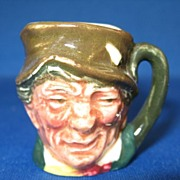 SALE Royal Doulton Miniature Toby Mug