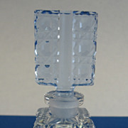 SALE Czech Mini Cut Glass Perfume