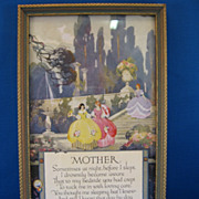SALE Buckbee Brehm Mother Motto Print