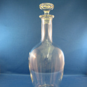 SALE Baccarat Cut Glass Decanter