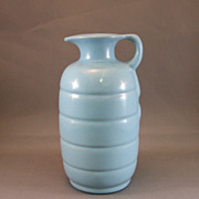 SALE Frankoma Blue Jug or Pitcher