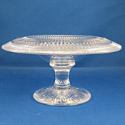 SOLD American Brilliant Cut Glass Compote