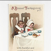 SALE Clapsaddle Thanksgiving Postcard
