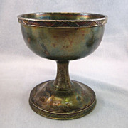 SALE 6 Gorham Silverplate Dollar Steamship Goblets