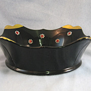 SALE Imperial Maytime Black Bowl